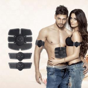 מכשיר סימולטור לאימון השרירים וחיטוב Smart Fitnes דגם: EMS לעיצוב הגוף